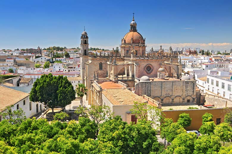 The Cathedral of the Holy Saviour in Jerez de la Frontera © Cezary - Fotolia.com