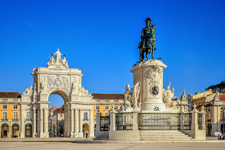 Square in the centre of historic Lisbon, Portugal © Christian - Fotolia.com