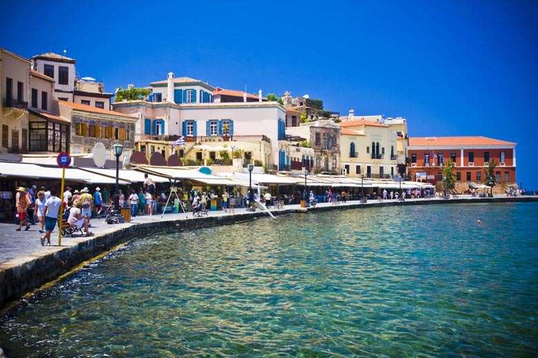 The seafront at Chania, Crete © Anilah - Fotolia.com