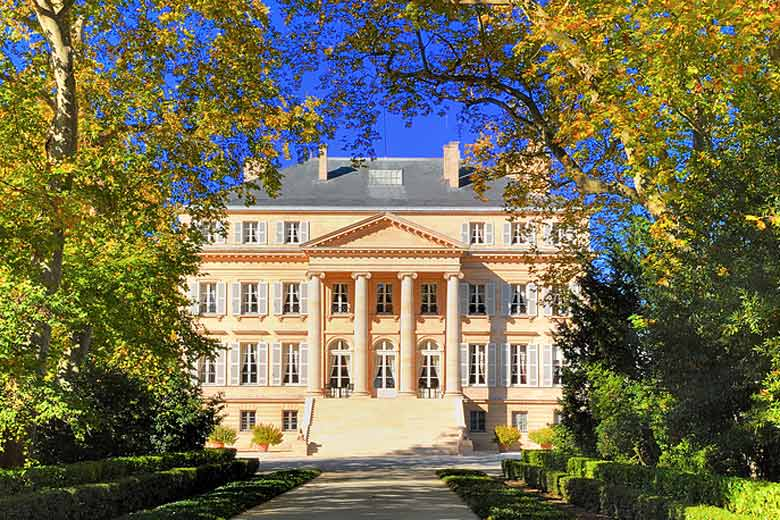 Chateau Margaux in the Médoc wine region, Bordeaux © Noisette0333 - Dreamstime