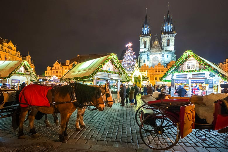Christmas market in the Old Town Square, Prague © Jan - Adobe Stock Image