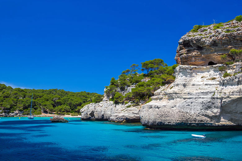 The cliffs at Cala Macarella, Menorca © tuulijumala - Fotolia.com