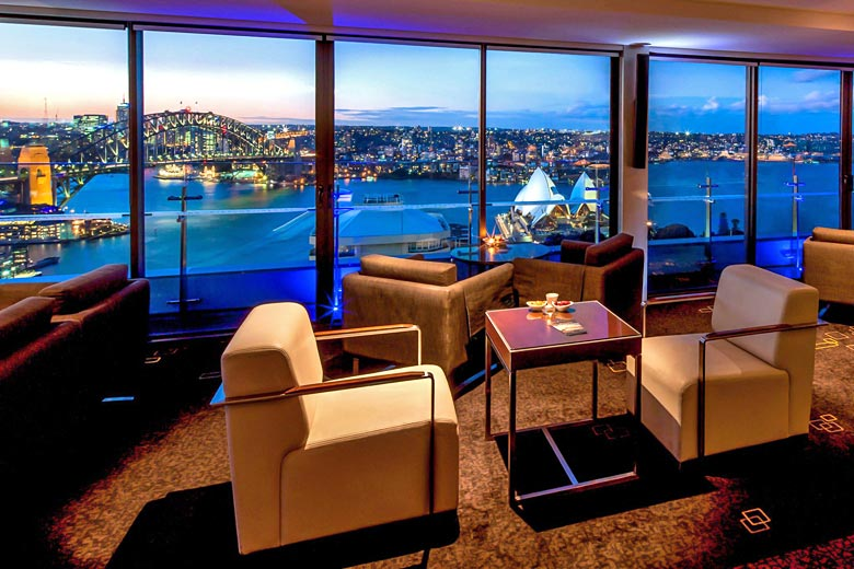 Club Lounge at the InterContinental Sydney - photo courtesy of InterContinental Hotels Group