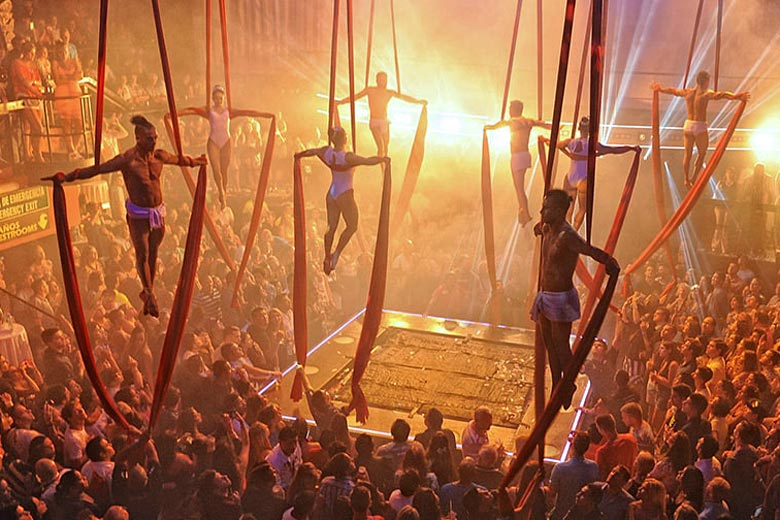 Prepare for a show like no other at Coco Bongo, Cancun - photo courtesy of Coco Bongo
