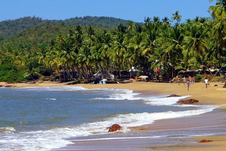 Cola Beach in South Goa not far from Agonda © Bamml82 - Flickr Creative Commons
