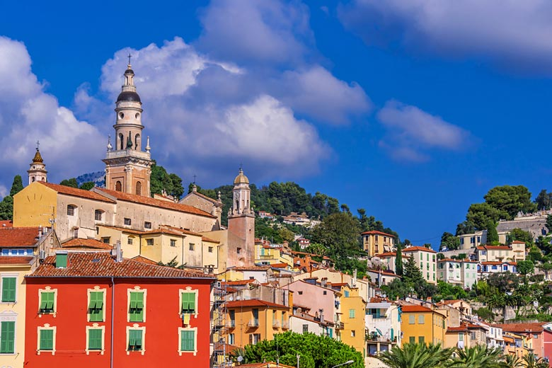 The colours and steep slopes of Menton © Monticellllo - Fotolia.com