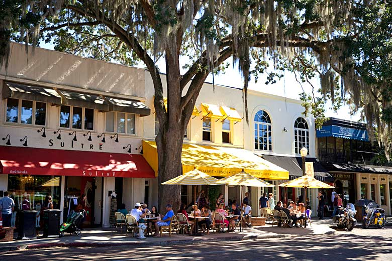 Enjoying the weather in Orlando in October © Julie Fletcher - courtesy of Visit Florida