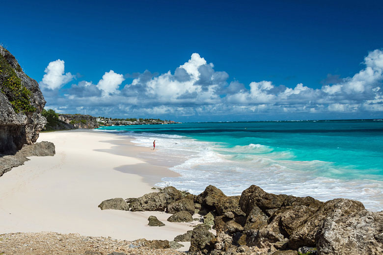 Crane Beach, Barbados with its famous pink sand © Willcop - Fotolia.com