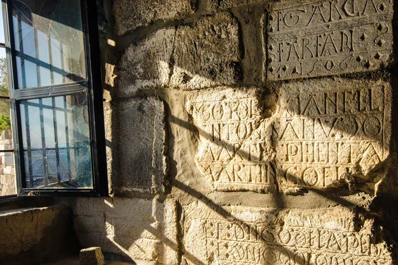 Graffiti left by Crusaders in Bodrum Castle © Kristal Dale - Flickr Creative Commons