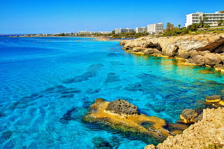 The crystal clear waters of Ayia Napa, Cyprus © Vladimir Sazonov - Fotolia.com