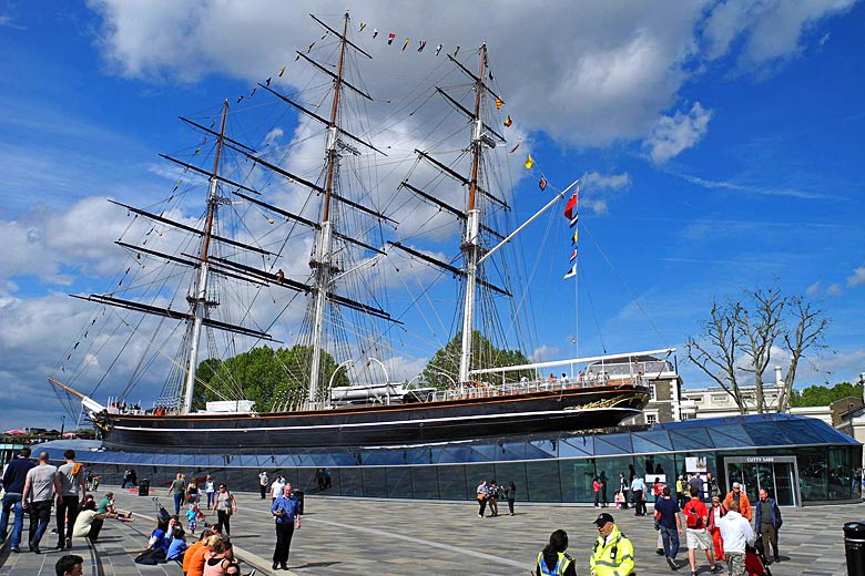 The Cutty Sark Museum at Greenwich © Lauair - Wikimedia Commons