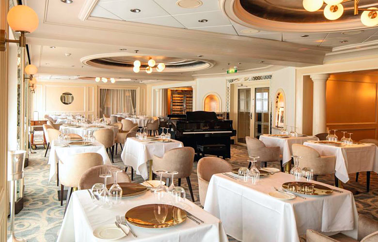 The Dining Club on Marella Explorer 2 - photo courtesy of Marella Cruises