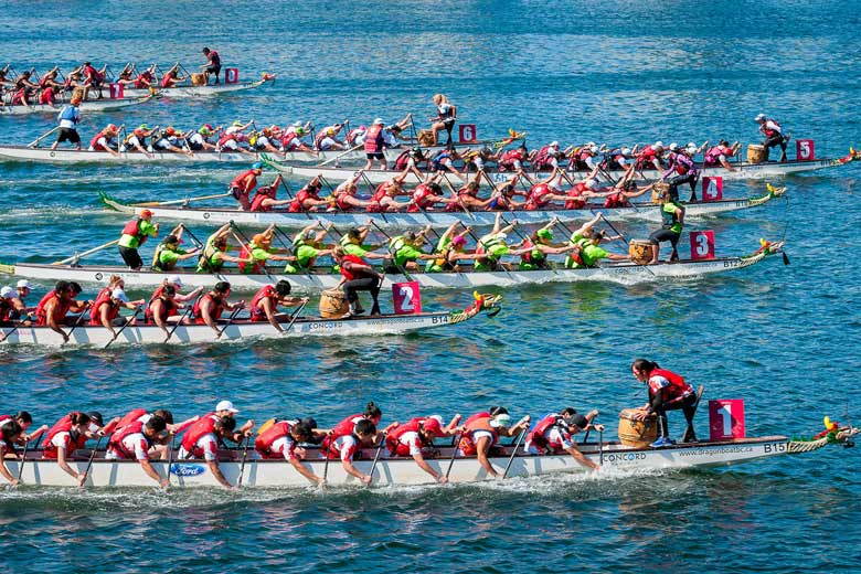 Dragon Boat race © Michelle Lee - Flickr Creative Commons