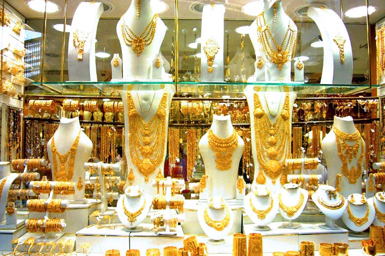 Dubai Gold Souk © Theodore Scott - Wikimedia Commons