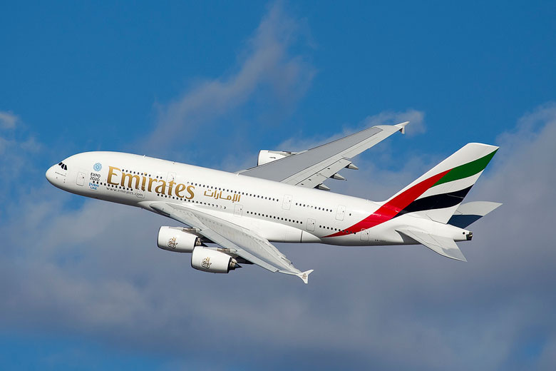 Emirates A380 © Maarten Visser - Flickr Creative Commons