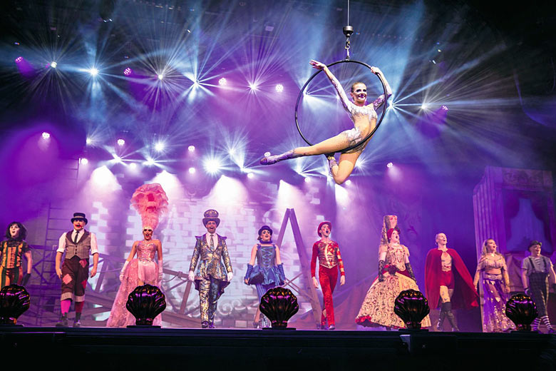 Evening entertainment on Marella Explorer 2 - photo courtesy of Marella Cruises from TUI