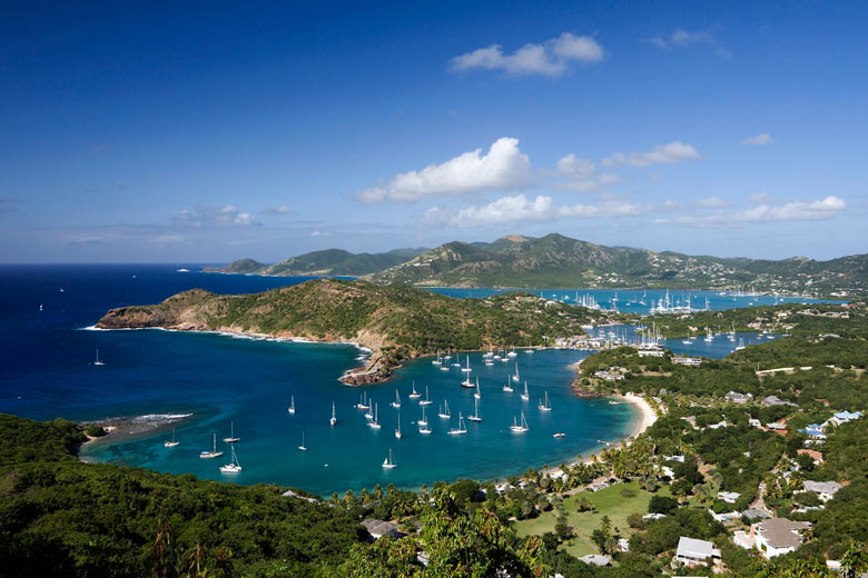 Falmouth Bay and English Harbour, Antigua © Antigua & Barbuda Tourism Authority