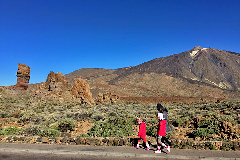 Family holiday in Tenerife © Robin McKelvie