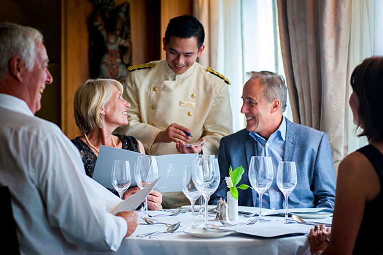 Enjoy fine dining with Fred Olsen - photo courtesy of Fred Olsen Cruise Lines