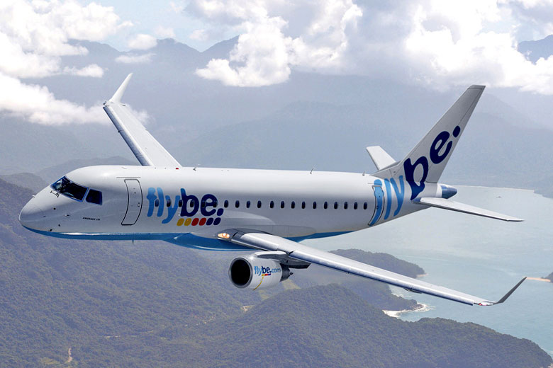 Flybe Embraer E175 © Flybe