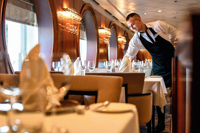 Preparing for Formal Night on the Marella Explorer - photo courtesy of Marella Cruises from TUI