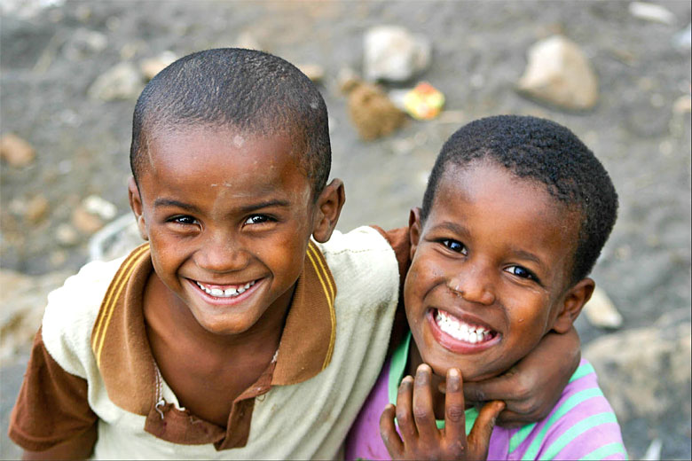 All smiles in Cape Verde - photo courtesy of Cape Verde Tourism