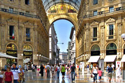 Milan's food and fashion: tour of Italy's second city