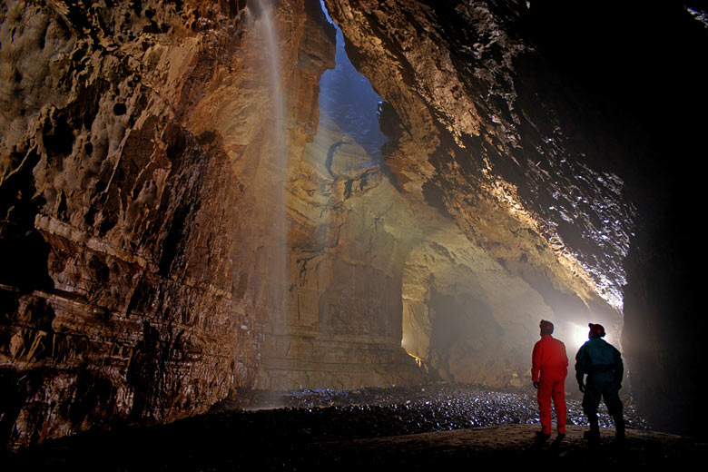 The Main Chamber of Gaping Gill © Basher BPC - courtesy of Yorkshire Dales National Park