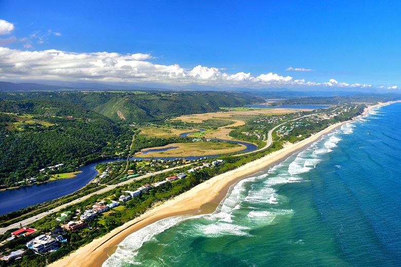 The Garden Route just west of Knysna - photo courtesy of South African Tourism