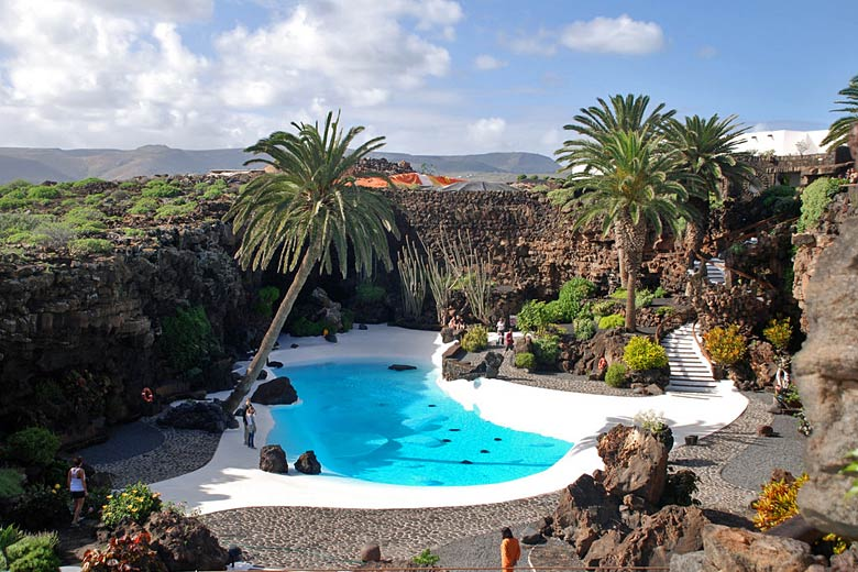 Gardens at Jameos del Agua, Lanzarote © www.traveljunction.com - Flickr Creative Commons