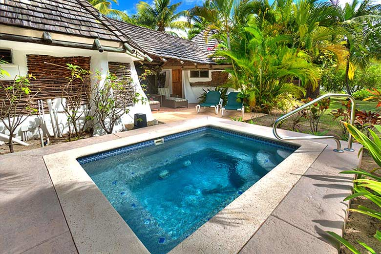 Gauguin Cottages at Galley Bay Resort, Antigua - photo courtesy of Galley Bay Resort