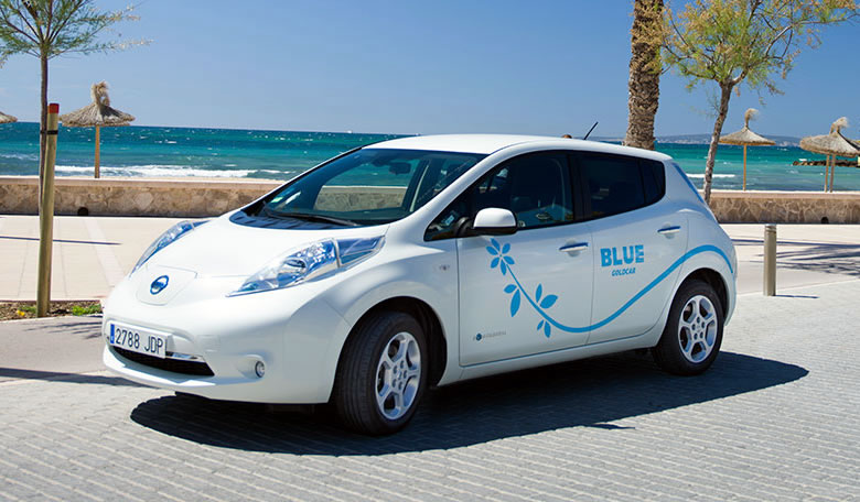 Goldcar Blue: Low emissions car hire for 2019/2020