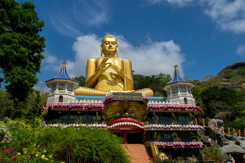 Part of the Golden Temple complex at Dambulla, Sri Lanka © Mlnuwan - Fotolia.com