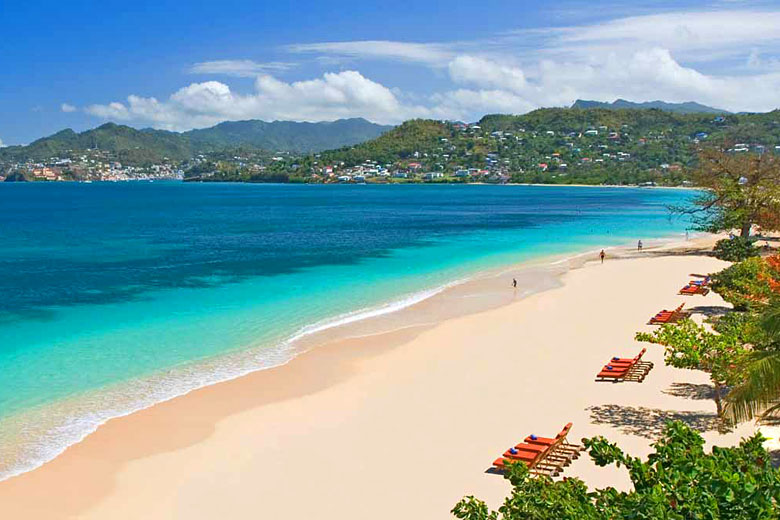 Grand Anse Beach, Grenada - photo courtesy of Grenada Tourism Authority