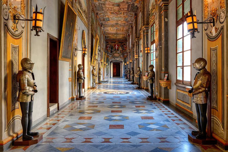 Corridor in the Grand Master's Palace, Valletta, Malta © Clive Vella - www.viewingmalta.com