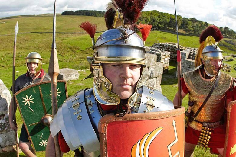 Hadrian's Wall Roman re-enactment © English Heritage