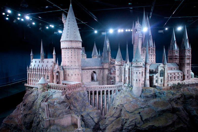 Hogwarts Castle Model © Warner Bros