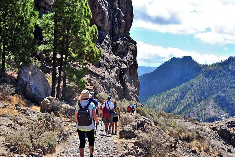 From easy paths to tough terrain, there's a hike for all in Gran Canaria - photo courtesy of Gran Canaria Tourist Board