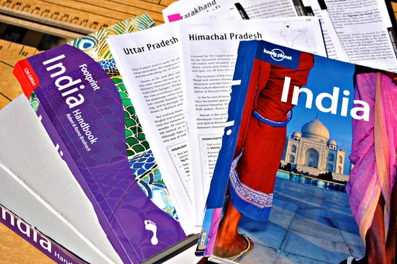 Lonely Planet magazine & holiday guidebooks © abrinsky - Flickr Creative Commons