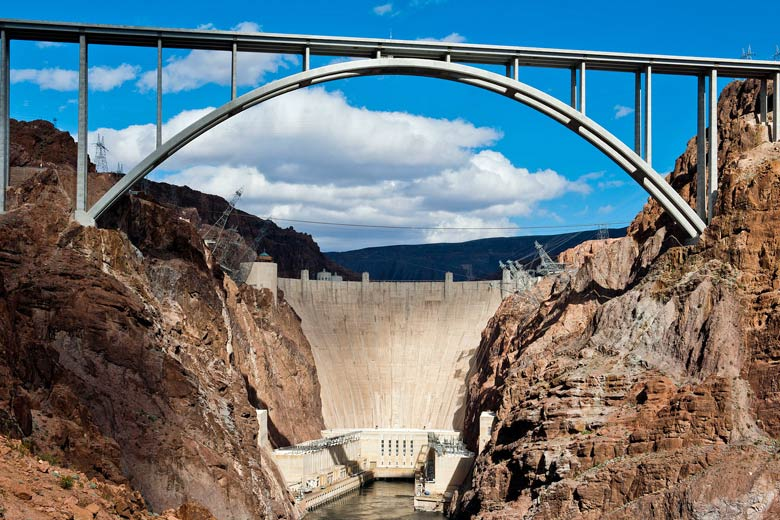 The Hoover Dam near Las Vegas © Alexander Stephens - US Bureau of Reclamation