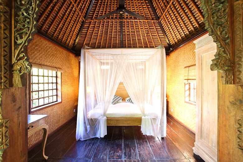 Stay in this traditional room in Ubud, Bali - photo courtesy of Airbnb