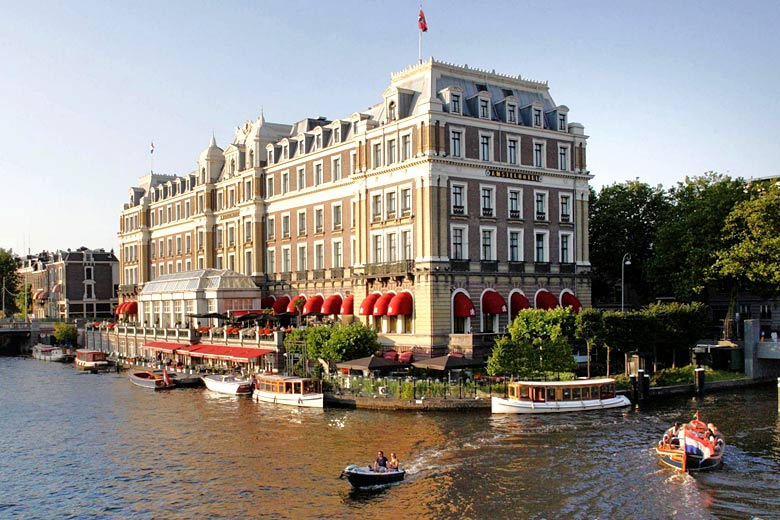 The imposing InterContinental Amstel, Amsterdam - photo courtesy of InterContinental Hotels Group