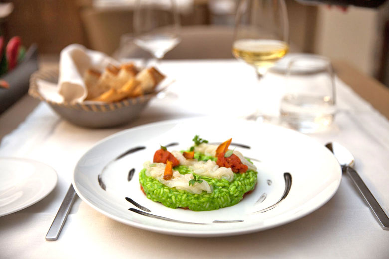 Innovative cuisine at Larte - photo courtesy of www.lartemilano.com