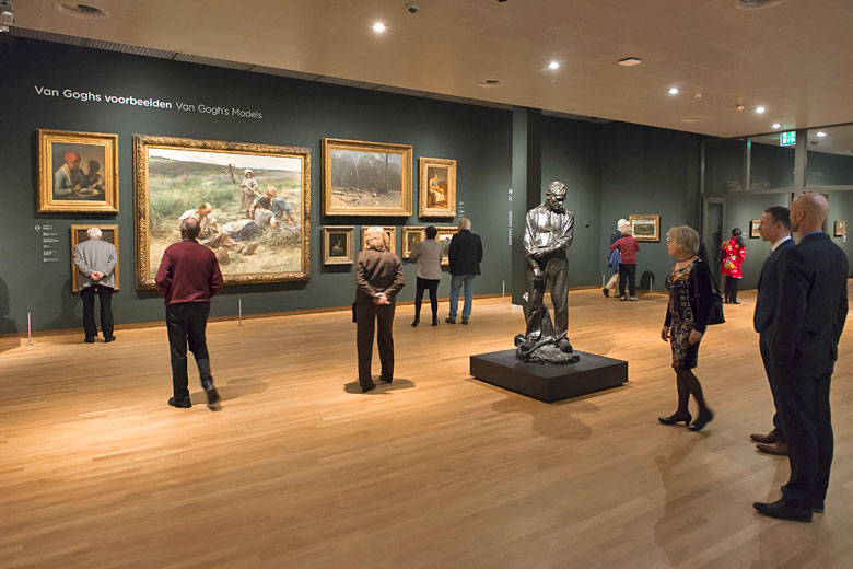Inside the Van Gogh Museum, Amsterdam - photo courtesy of Holland Media Bank