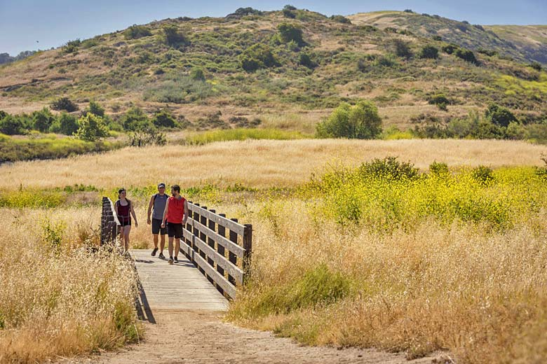 Irvine Regional Park in the foothills of the Santa Ana Mountains - photo courtesy of Orange County Visitors Association
