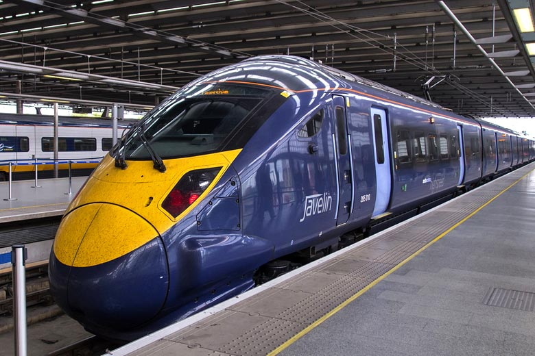 The Javelin train at St Pancras International © Ed Webster