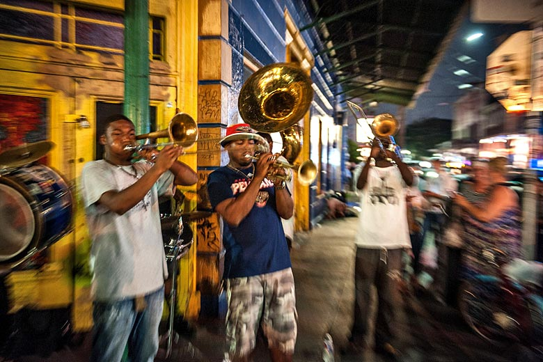 Jazz on Frenchmen Street, New Orleans © Brian Lauer - Flickr Creative Commons