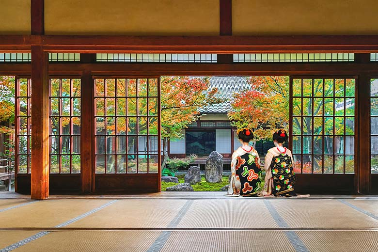 Autumn at the Kennin-ji Temple in Kyoto, Japan © Cowardlion - Fotolia.com