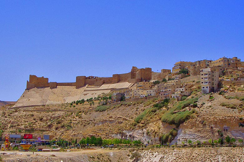 the impressive ramparts of Kerak Castle, Jordan © MsAnthea - Flickr Creative Commons