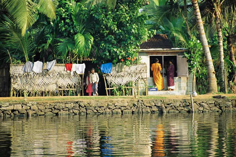 Kerala Backwaters © Kathryn Burrington - TravelWithKat.com